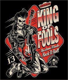 Johnny Rebel T-Shirt Design King of Fools by russellink.deviantart.com on @deviantART