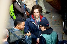 FIRST LOOK: Benedict Cumberbatch and Chewitel Ejiofor on the set of Marvel's Doctor Strange in Patan Durbar Square, Nepal