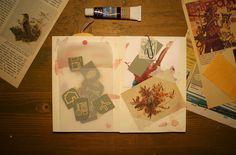 Carnet d'inspiration automnal - Inspiration journal - La carte au trésor : le blogue
