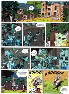 Pikon ja Fantasion uudet seikkailut 3: Varokaa zorkoneita. #egmont #sarjakuva #sarjis #piko #fantasio