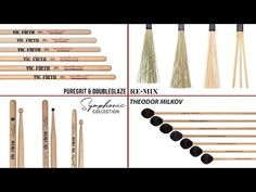 New Products from Vic Firth!