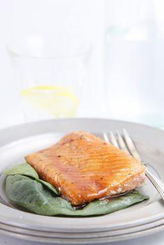 Brown Sugar Citrus Glazed Salmon