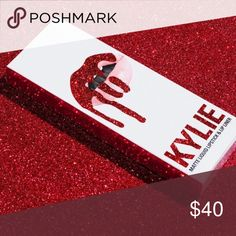 Valentine Kylie Lip Kit! 💋 Brand new & authentic guaranteed 100% authentic and new! retired lip kit. on hand and will ship to you immediately! buy with confidence! read my love notes 💕💋 Kylie Cosmetics Makeup Lipstick
