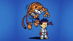 Street Fighter Calvin and Hobbes