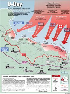 d-day battle map