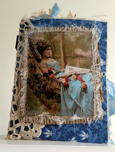 My Design Team Project for Ephemoire - Enchanted Blue -Created by Fiona Knobben - The Journal Crafter http://ephemoire.com?ref=11