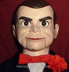 GET One of the most famous #ventriloquist dummies: #Slappy from #Goosebumps BUY IT NOW<> http://puppet-master.com/famous-ventriloquist-dummies-goosebumps-slappy #ventriloquism #doll #dummy #puppet