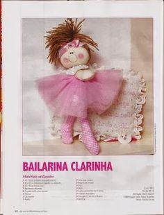 Mimin Dolls: bailarinas - free pattern - tutorial - Bildanleitung