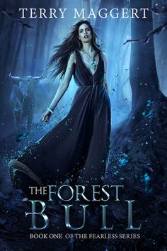 """New cover art for """"The Forest Bull"""", first novel in the series."""