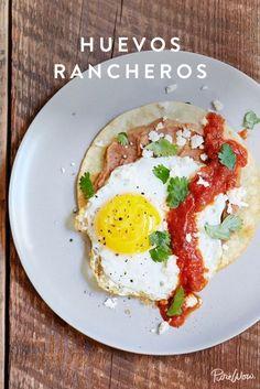 Huevos Rancheros via @PureWow via @PureWow
