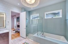 903 Cantabria Court - Fort Worth  Gorgeous Modern Bathroom Design