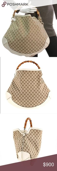 954ffbd7c0e GUCCI Peggy Large Bamboo Top Handle Bag GUCCI Peggy Large Bamboo Top Handle  Bag. Gently