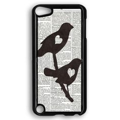 Dictionary Bird Love iPod Touch 5 Case
