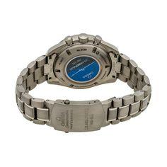 OMEGA SPEEDMASTER HB-SIA GMT CHRONOGRAPH SOLAR IMPULSE AUTOMATIC // 321.90.44.52.01.001 // STORE DISPLAY caseback and bracelet