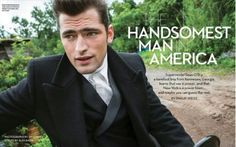 M Magazine: The Handsomest Man in America Sean O'pry, Prom Photos, Gianfranco Ferre, Dazed And Confused, Belstaff, Advertising Campaign, Uniqlo, Gq, Supermodels