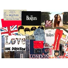 """beatles direction (by : kirana)"" by kiranasalsabila on Polyvore"