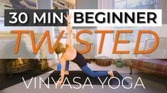 Don't get tangled up in your twists! In this 30 minute beginners vinyasa flow we'll go through the fundamentals of twists, to help you find stability and expansion in twists, rather than strain and constriction. You may even work up a bit of a sweat in the process...I did! #happyyogi #yoga #yogaforbeginners Tangled Up In You, Online Yoga Classes, Vinyasa Yoga, Yoga For Beginners, Twists, Stability, Flow, Wellness, Yoga For Complete Beginners