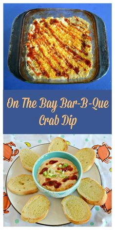 Looking for an easy to make dip recipe for your next gathering? Try this tasty On The Bay Crab Dip Recipe! #crabdip #crabrecipes #barbquerecipes | Crab Dip | Crab Dip Recipes | Crab Recipes | Appetizer Recipes | BBQ Recipes | Crab Dip Recipes, Easy Appetizer Recipes, Healthy Appetizers, Yummy Food, Good Food, Tasty, Crab Feast, Crab Dishes, Hot Crab Dip