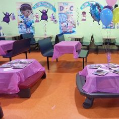 #hippohoppparty doc mcstuffins themed party