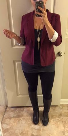 Stitch Fix #9. Kensie Rebekah blazer. Once again, Chanelle is amazing and this is a 5/5.