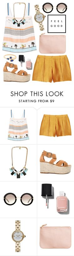 """""""Remember this, remember where you are."""" by luxecouture ❤ liked on Polyvore featuring Paul & Joe, Maiyet, SCHO, Elyse Walker Los Angeles, Miu Miu, Chanel, Marc Jacobs and H&M"""