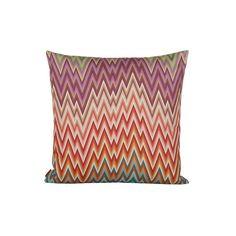 Missoni Home - Narboneta Cushion - 159 - Scatter Cushions, Throw Pillows, Textile Patterns, Textiles, Luxury Sofa, Missoni, Area Rugs, Tapestry, Magic