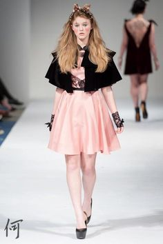 Walking the runway in a Pink girly dress with velvet cape and lace gloves Lace Gloves, Modeling, Cape, Runway, Walking, Ballet Skirt, Girly, Velvet, Skirts