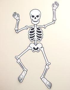halloween skeleton silhouettes - Google Search