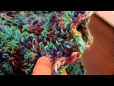 How to knit the feather and fan stitch/ A