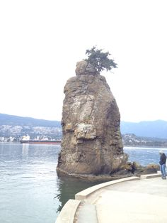 Siwash Rock, Stanley Park- Vancouver, BC.