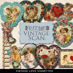 Скрап-набор - Старые романтические открытки на прозрачном фоне. Обсуждение на LiveInternet - Российский Сервис Онлайн-Дневников