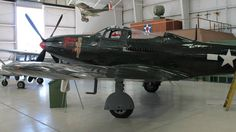 P-63 King Cobra, USAAF, WW2. Palm Springs Air Museum. Photo by Patrick Mack.