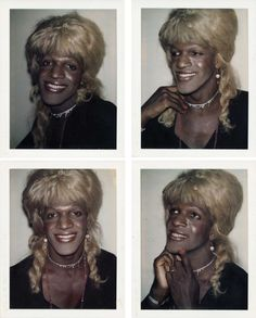 Marsha P. Johnson was a leader of the 1969 Stonewall Riots. Here are Polaroids of her taken by Andy Warhol to show remembrance of her as the significant trailblazer that she was in making the Stonewall Riots happen. Stonewall Uprising, Stonewall Riots, Stonewall Inn, Black Power, Pretty People, Beautiful People, Paper Magazine, Lgbt History, History Class