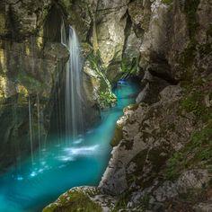 Rio Soca - Eslovênia