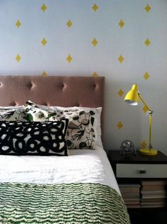 Easy Pattern: Stamped wall