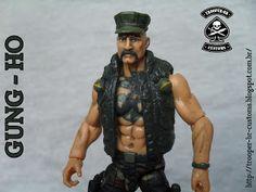 Gi joe Custom Action Figures: Gi Joe Marine Gung-Ho