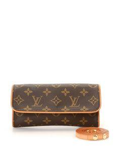 Louis Vuitton Monogram Twin Pochette - Vintage