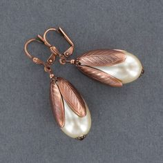 Sadie Green's Pearl Drop Earrings