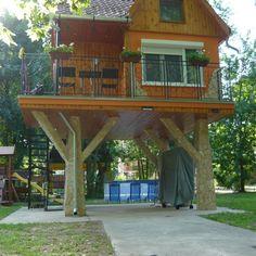 Gazebo, Pergola, Outdoor Structures, Cabin, House Styles, Places, Outdoor Decor, Fairy, Design