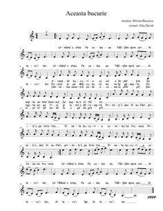 Nasa, Sheet Music, Music Sheets