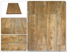 BuildDirect: Porcelain Tile Porcelain Tile   Handscraped Wood    Almond