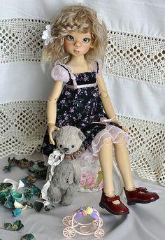 Маленькая помощница (Layla Kaye Wiggs) / BJD - шарнирные куклы БЖД / Бэйбики. Куклы фото. Одежда для кукол