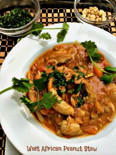 West African Peanut Stew - try it to change your routine and give your family and friends a new experience! http://anewyorkfoodie.com/west-african-peanut-stew/