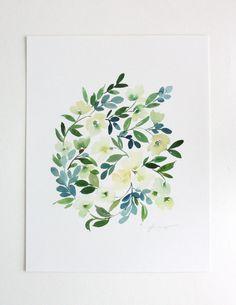 Artist Series: Yao Cheng Design | Otomi Home #watercolor #wallart