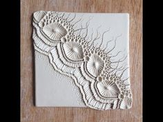 Tile making – Mairi Stone Tile making – Mairi Stone Clay Wall Art, Ceramic Wall Art, Ceramic Clay, Porcelain Ceramics, Ceramic Pottery, Fine Porcelain, Ceramic Decor, Pottery Art, Clay Projects