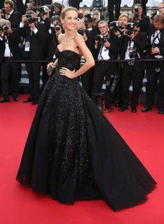 Cannes - jour 7 : les plus beaux looks du tapis rouge petra Nemcova en Zuhair Murad couture