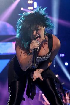 Demi Lovato on stage at Vevo's certified SuperFanFest event in Santa Monica, CA - October 8th #VCSFF