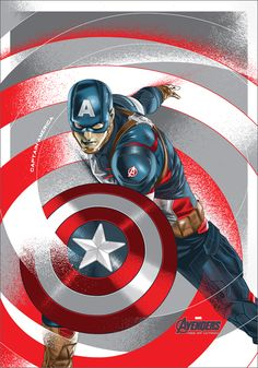CAPTAIN AMERICA | concept art design | Marvel heroes