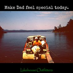 Get great last minute Father's Day gifts at lakehouseoutfitters.com