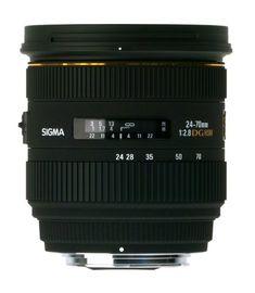 Sigma 24-70mm f/2.8 IF EX DG HSM AF Standard Zoom Lens for Sigma Digital SLR Cameras - List price: $899.00 Price: $799.00
